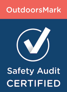 OutdoorsMark Safety Audit Certified logo